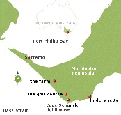 The Jetty Journals -  Mornington Peninsula Map